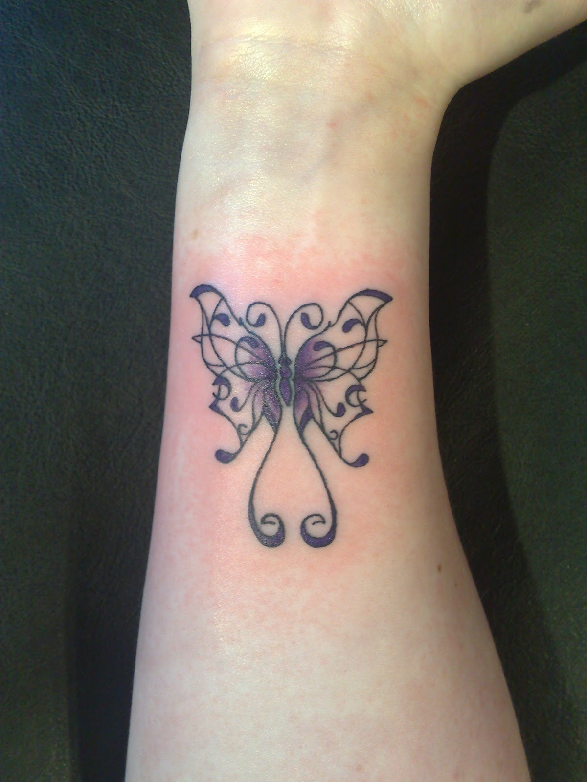 Butterfly tattoos designs ideas and meaning tattoos for you for Butterfly tattoo wrist designs
