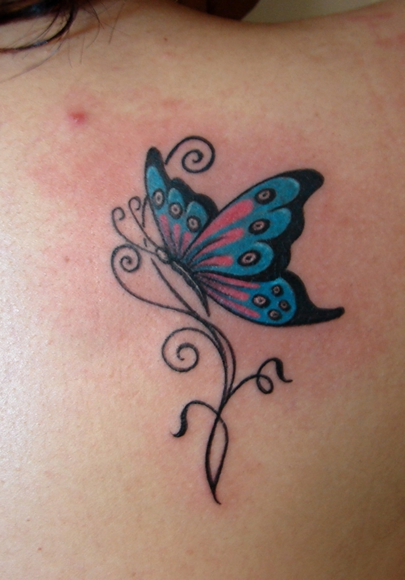 tribal tattoo neck butterfly You Butterfly and Designs, Ideas Tattoos Tattoos  For Meaning