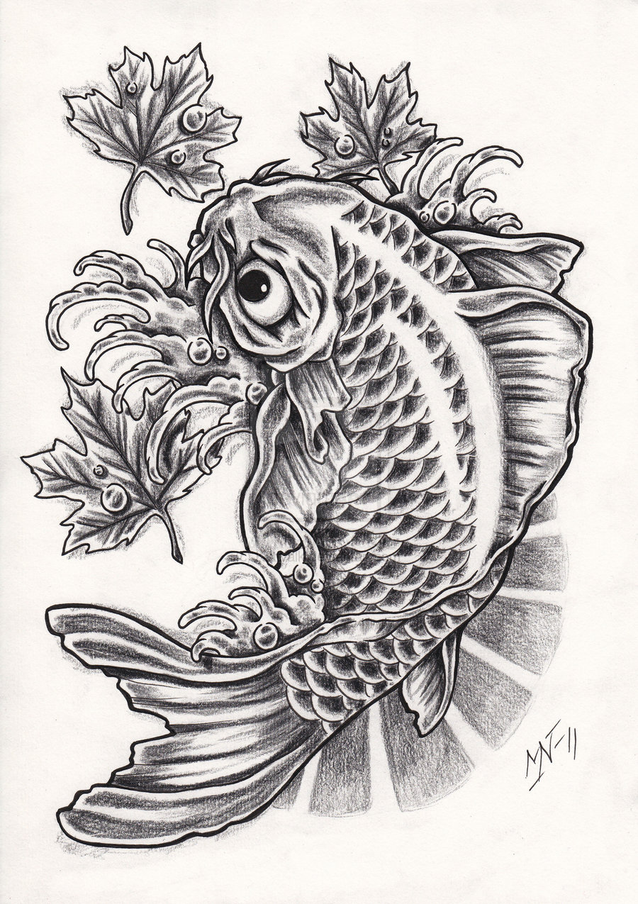 Koi tattoos designs ideas and meaning tattoos for you for Free tattoo design