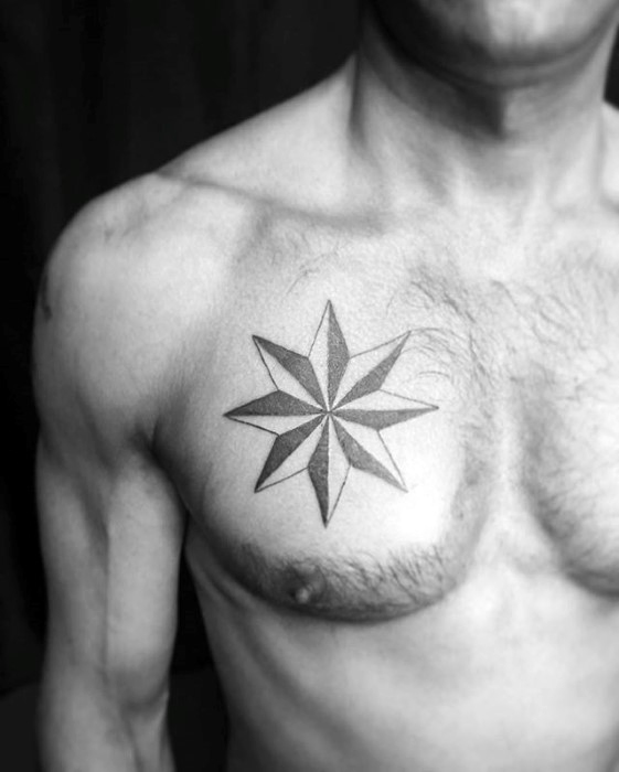 star tattoos for men designs ideas and meaning tattoos for you. Black Bedroom Furniture Sets. Home Design Ideas