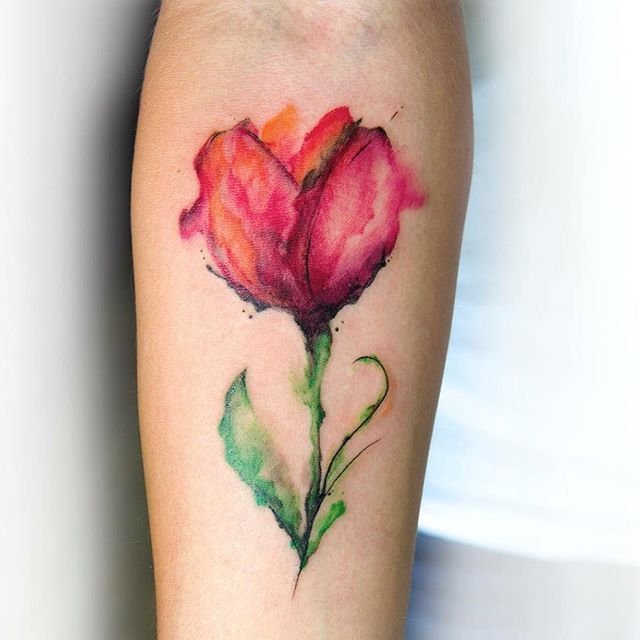Flower Tattoos Designs Ideas And Meaning: Watercolor Flower Tattoo Designs, Ideas And Meaning